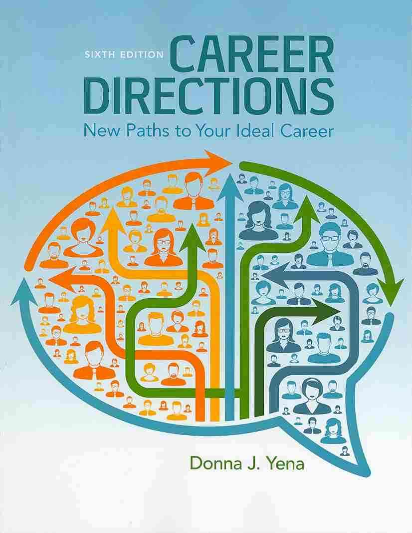 Career Directions By Yena, Donna